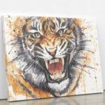 Wściekły tygrys