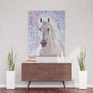 Bajkowy koń andaluzyjski