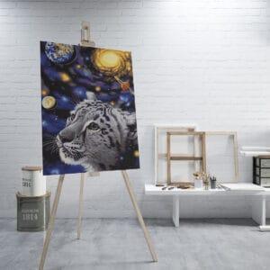 Biały tygrys w kosmosie