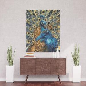 Dumne pawie - mozaika