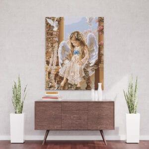 Aniołek w oknie