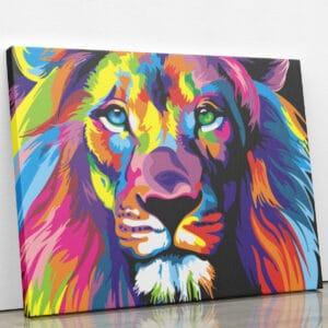 Kolorowy Lew
