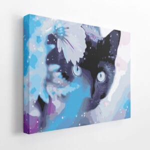 Kot w błękitach