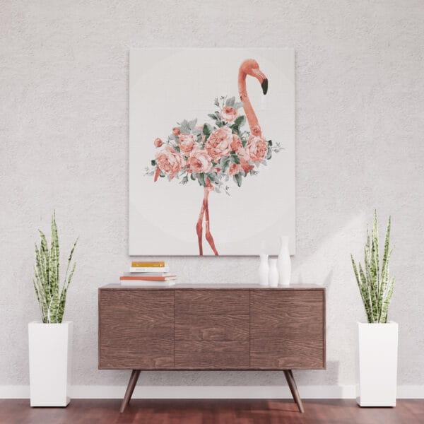 Flamingowa dama