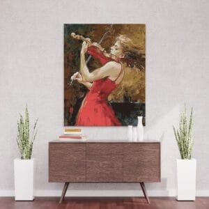 Muzyczna pasja skrzypaczki