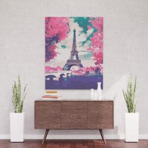 Paryż w rózu