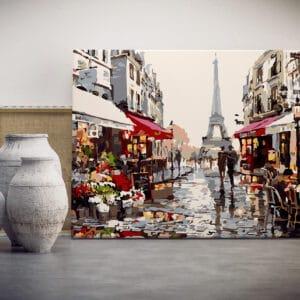 Spacer w Paryżu