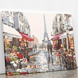 Spacer alejkami Paryża